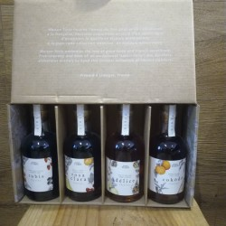 Coffret de cocktails de saison - 4x20cl
