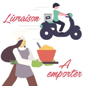 A emporter / livraison