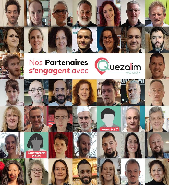 Les partenaires Quezalim s'engagent