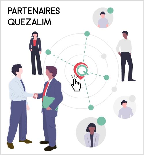 Réseau partenaires Quezalim