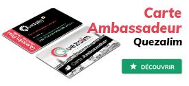 Devenez un ambassadeur avec Quezalim